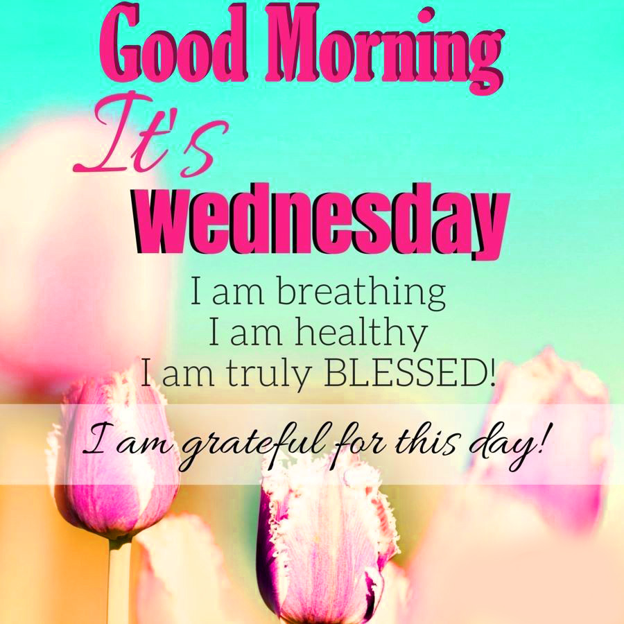 Good Morning Wednesday Blessings 2