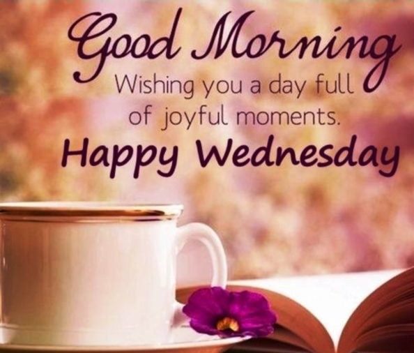 Happy Wednesday Quotes & Wallpaper
