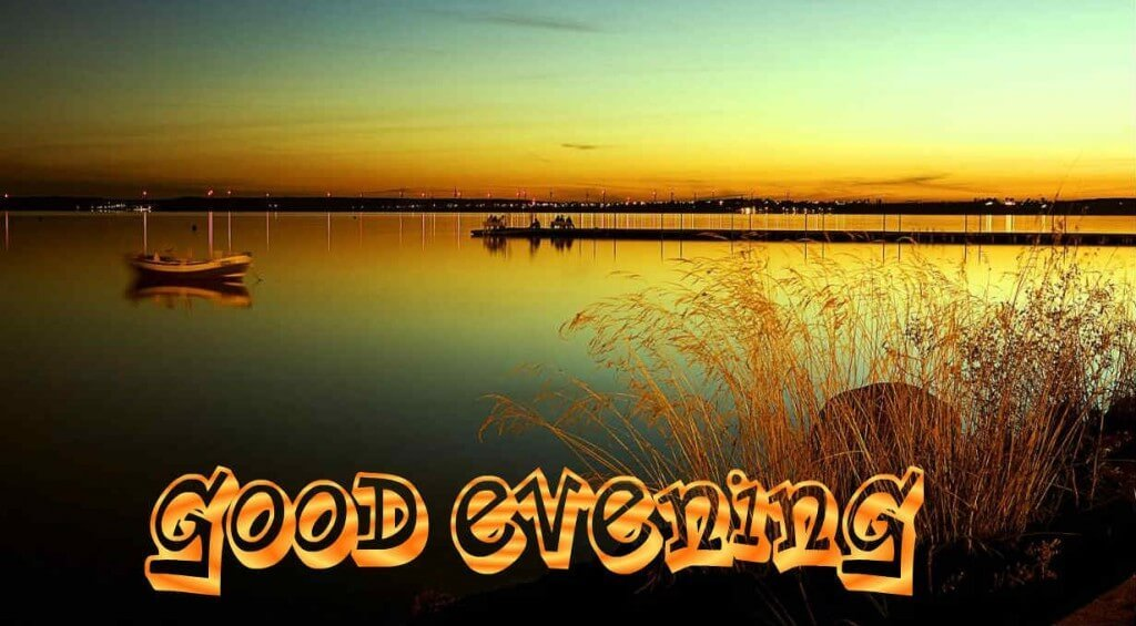 Lovely Good Evening Message  2