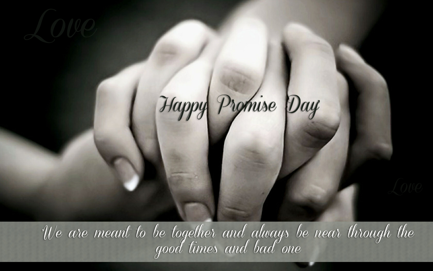 Promise Day WhatsApp Status 2