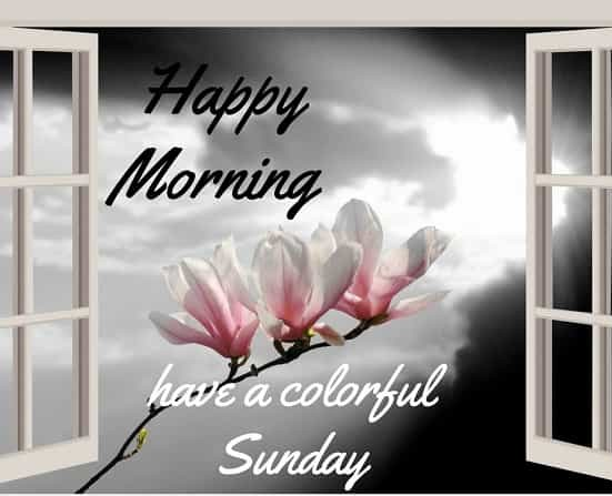 Good Morning Sunday Images & Messages 3
