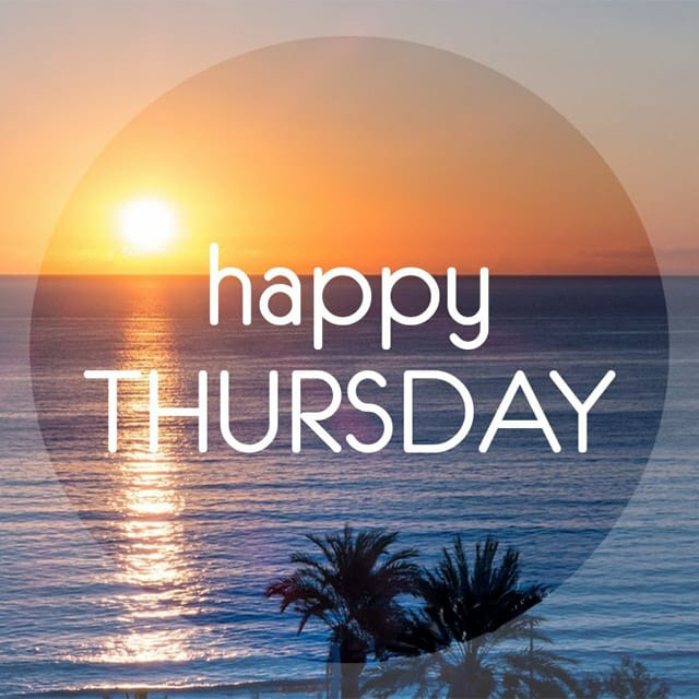 Happy Thursday Quotes & Wallpapers 2