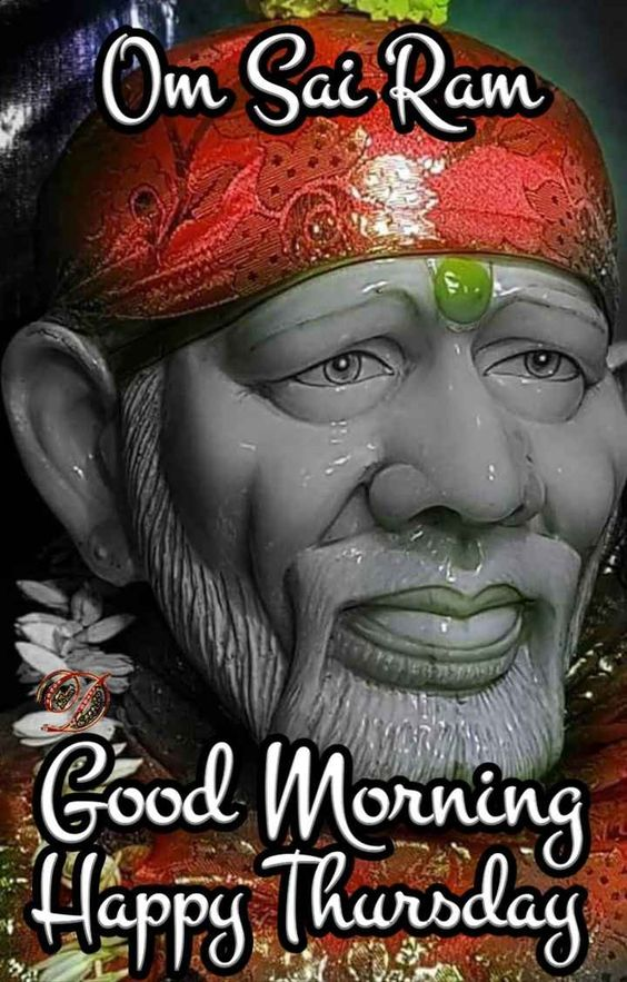 Happy Thursday with Saibaba Blessings 3