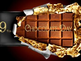 Happy Chocolate Day my Love