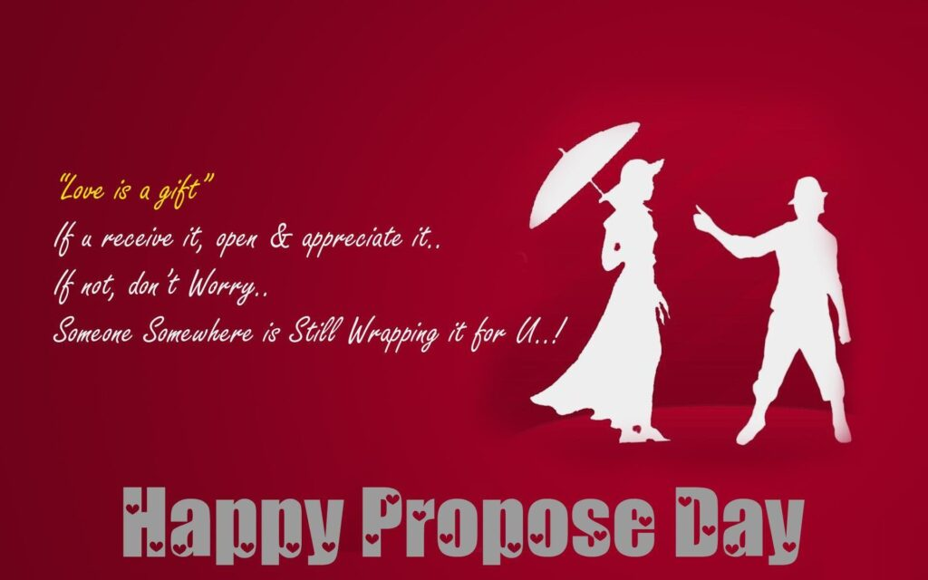 Happy Propose Day Wallpaper 2