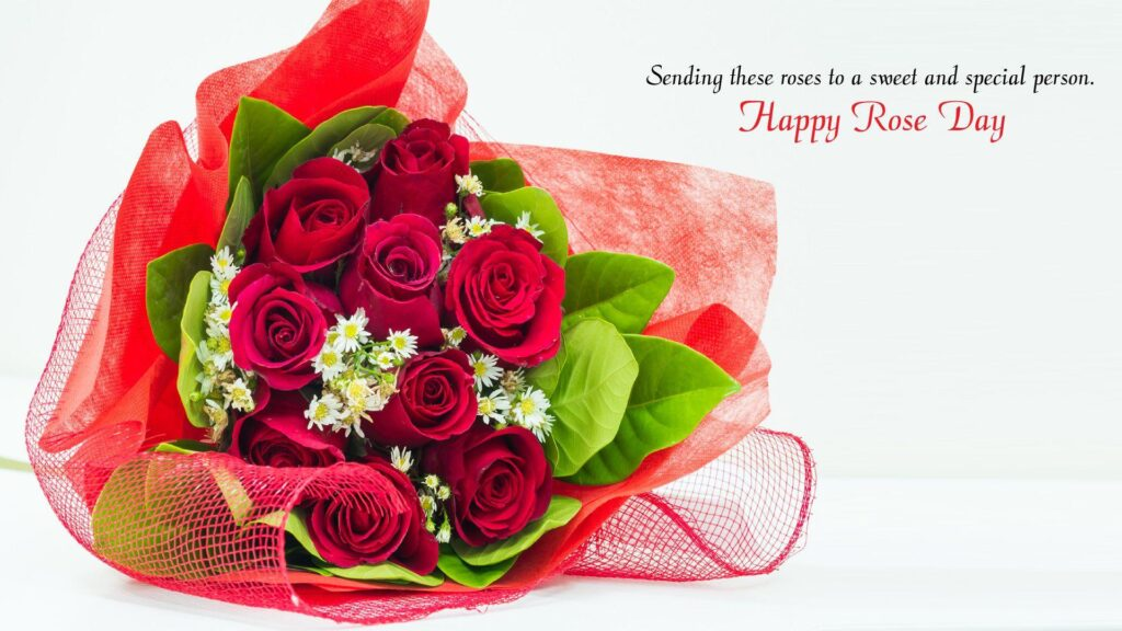 Rose Day Message for Wife