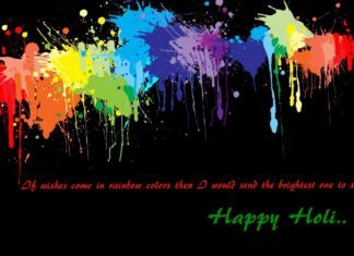 Best Holi Wishes Messages